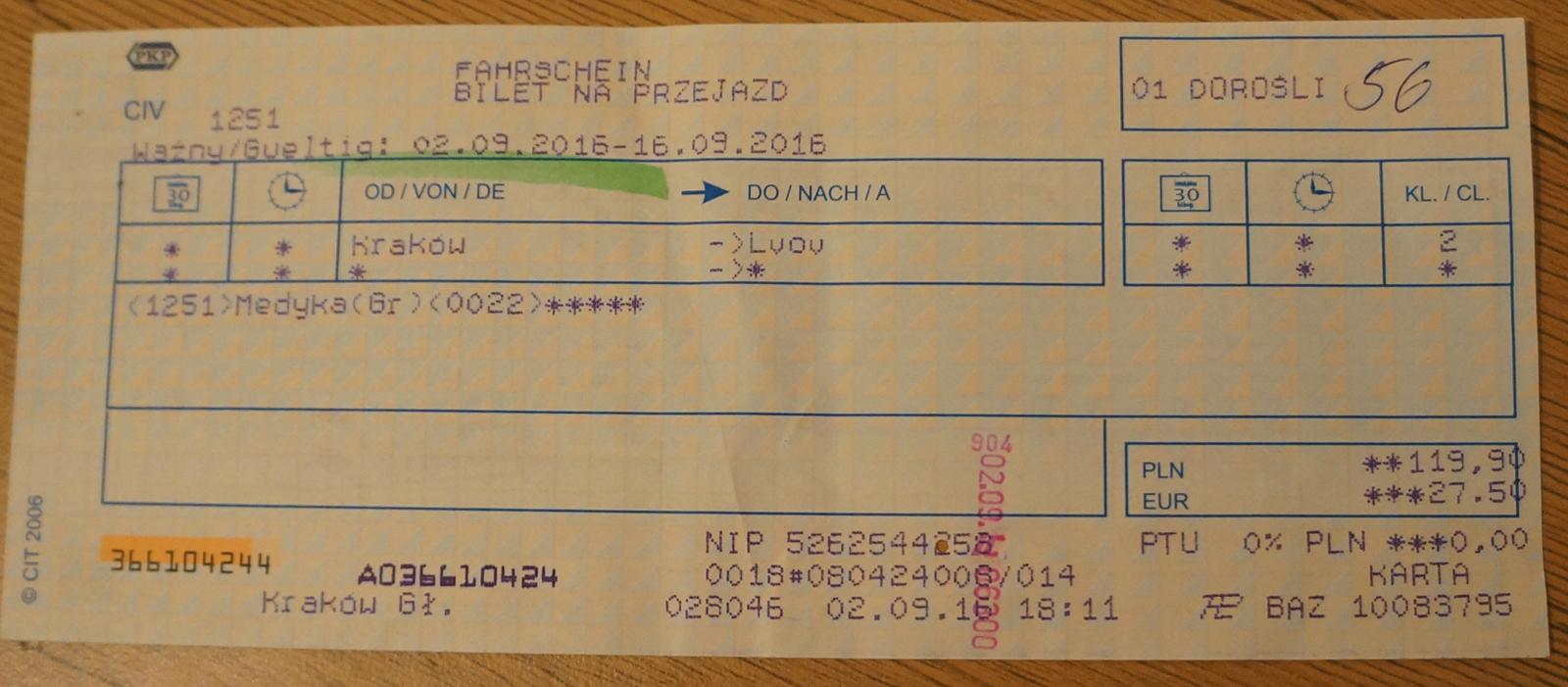 bilet_lvov_krakow